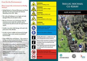 PDF: Skellig Michael Safe Access Guide